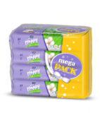 Podrobnější informace o zbožíHAPPY Mega pack vlhčené ubrousky Hedvábí & Bavlna á 64 ks x 4