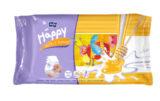 Podrobnější informace o zbožíVlhčené ubrousky Happy Mléko & Med