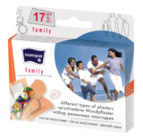 Podrobnější informace o zbožíNáplast Family á 17 ks