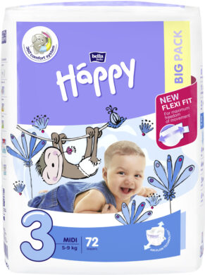 HAPPY MIDI Big Pack á 72 ks
