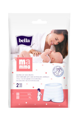 BELLA MAMMA síťované kalhotky vel.XL á 2 ks
