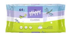 HAPPY Classic čistící ubrousky á 64 ks