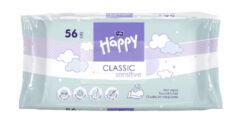 HAPPY Classic Sensitive čistící ubrousky á 56 ks